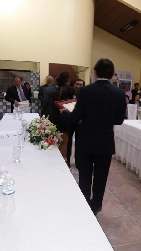 Entrega de Titulo de Cidadão Honorario de Assaí ao Senhor Paulo Kyoto Kobo