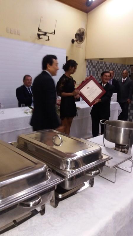 Sessão Solene de Entrega do Titulo de Cidadão Honorário de Assaí ao Senhor Paulo Kyoto Kobo