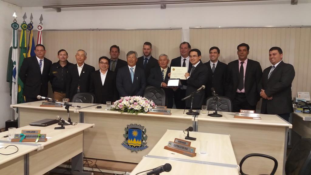Sessão Solene em Comemoração ao Dia Municipal da Soka Gakkai