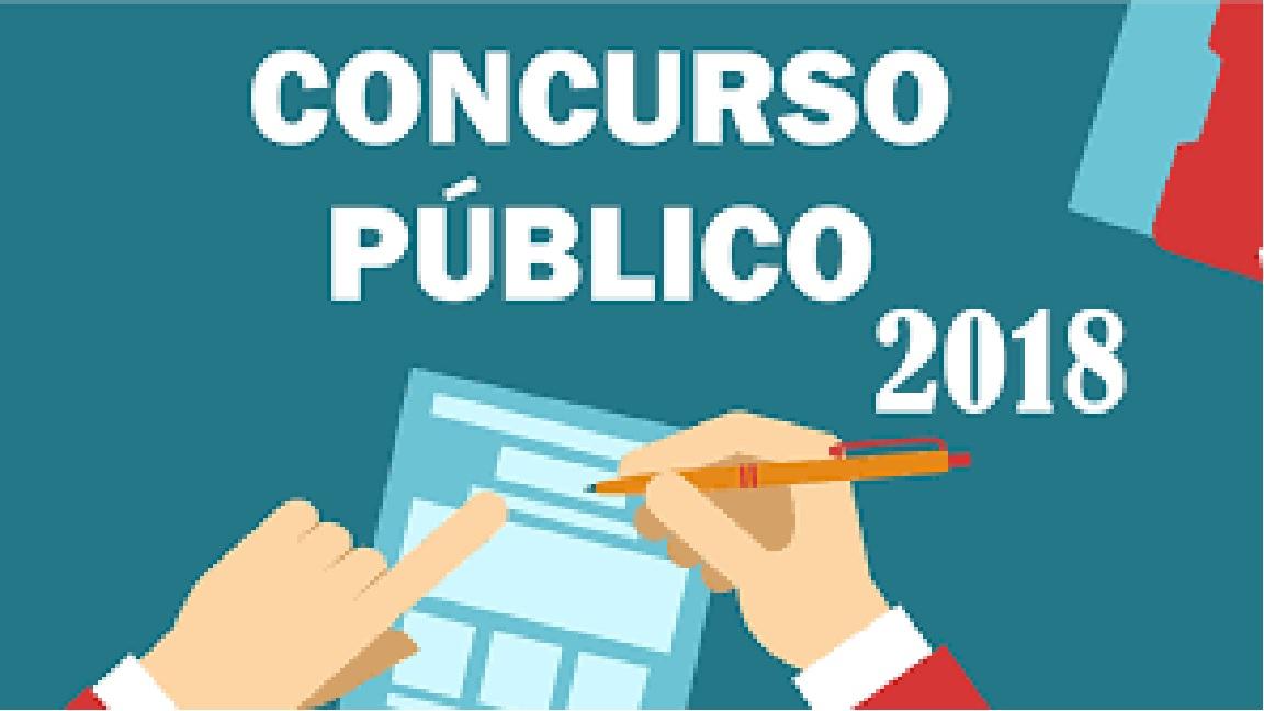 Edital do Concurso Público nº 001/2018